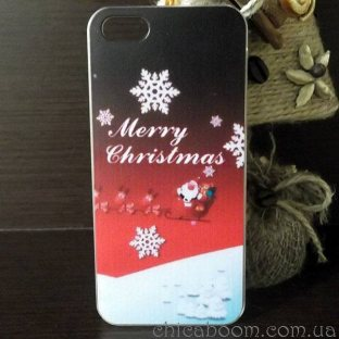 Чехол для iPhone 5 Merry Christmas