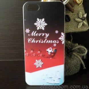 Чехол для iPhone 5 Merry Christmas