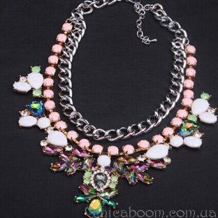 Ожерелье Цветочная сказка
