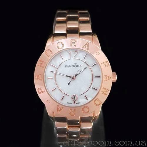 Часы Pandora цвета розовое золото