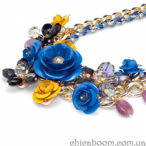 Ожерелье Весенние цветы