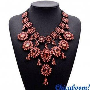 Ожерелье Grace в розовых тонах