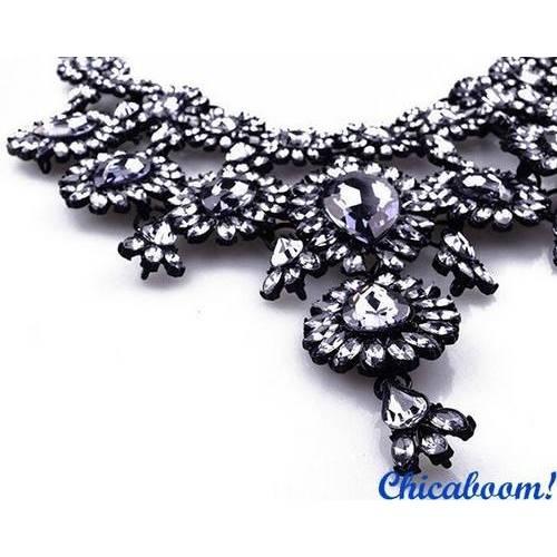 Ожерелье Grace в тёмных тонах