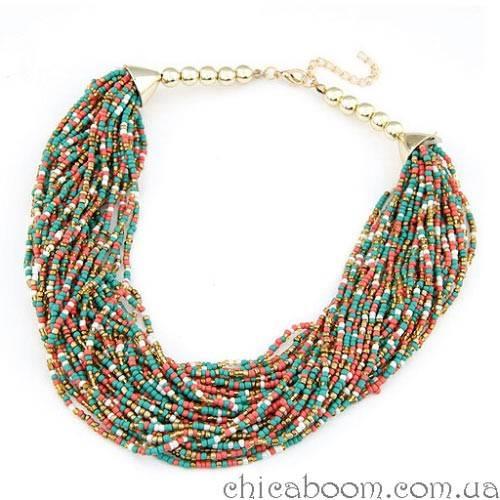 Ожерелье Бисерное счастье