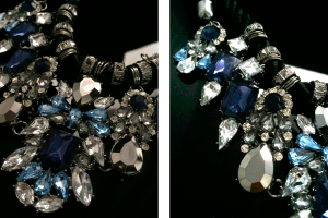 Стильные вещи. Ожерелье Shourouk с кристаллами.
